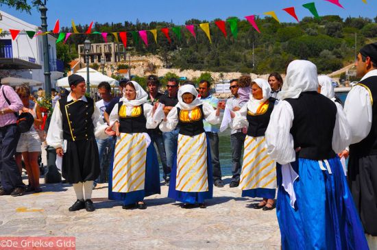 Griekse dans op Kefalonia
