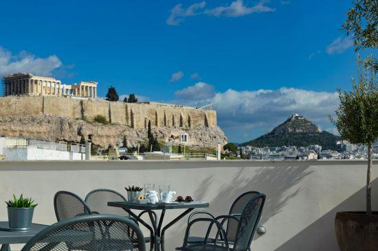Acropolis Hill Athene Stedendtrip