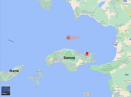 Aardbeving Ikaria