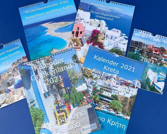 Griekenland kalender Kreta
