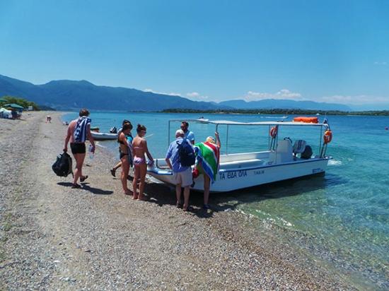 Reisverslag limni noord evia oorspronkelijk grieks griekenland weblog - Eilandjes bad ...