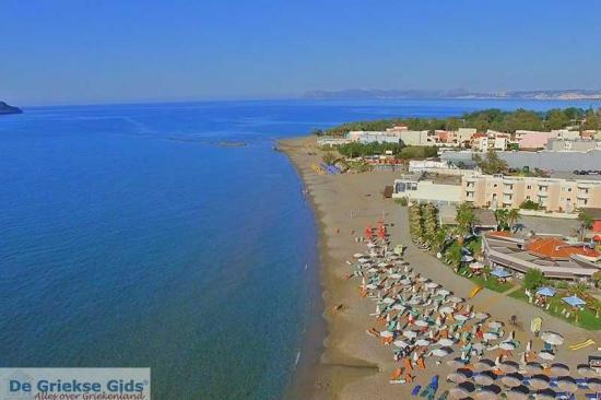 Agia Marina Strand - Kreta stranden
