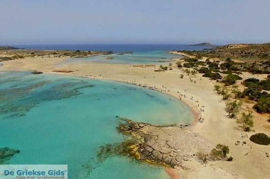 Elafonisi - Kreta stranden