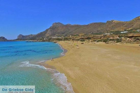 Falasarna - Kreta stranden