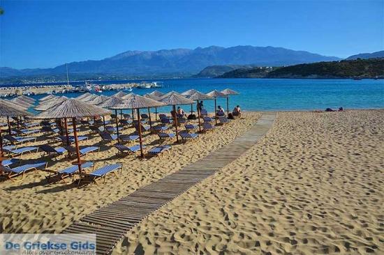 Marathi - Kreta stranden