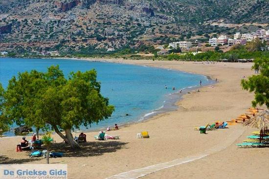Paleochora - Kreta stranden