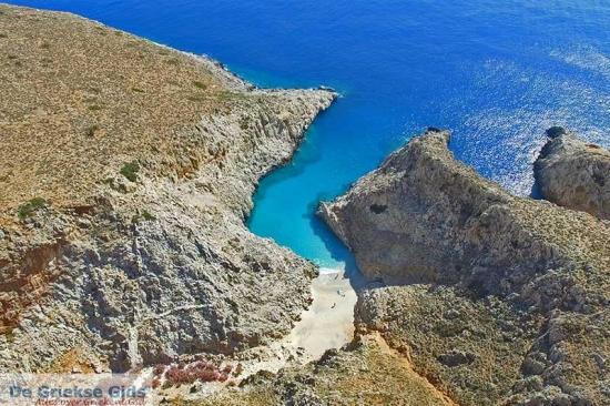 Seitan Limania - Kreta stranden