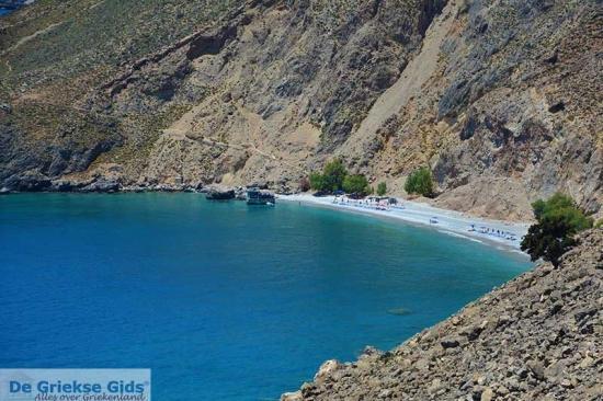 Glika Nera bij Sfakia - Kreta stranden
