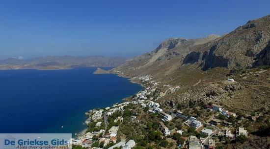 Steile kust Kalymnos