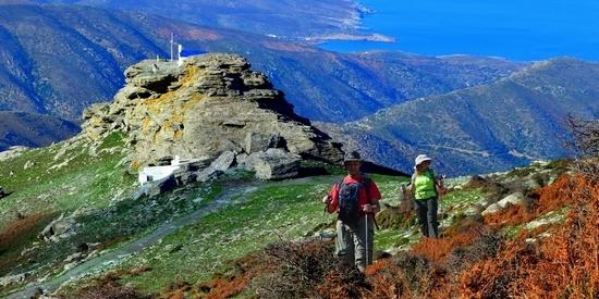Wandelen op Andros