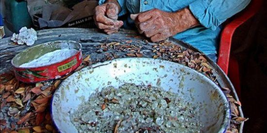 Mastiek sorteren