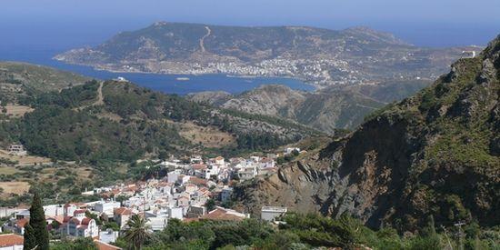 UItzicht vanaf Aperi Karpathos