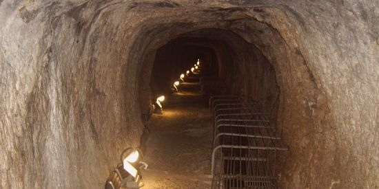 Efpalinio tunnel Samos