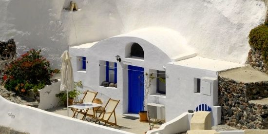 Grotswoning Santorini