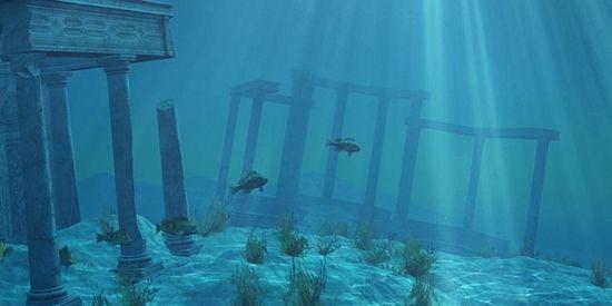 Het verzonken Atlantis