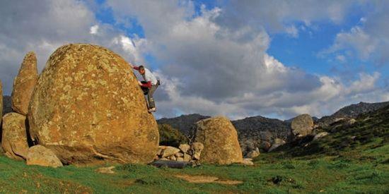 Boulderen in Volax