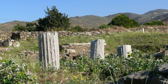 De tempel van Poseidon en Amfitrite