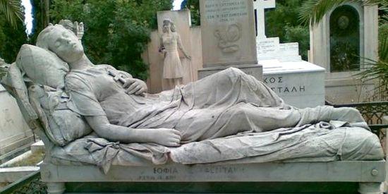 'De schone slaapster' van Chalepas