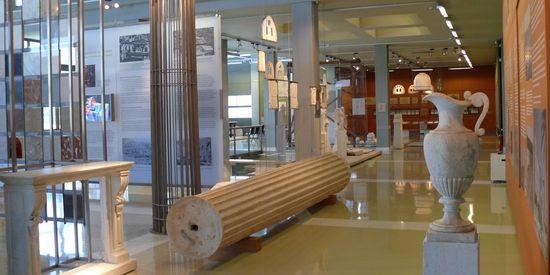 Marmer museum in Pyrgos