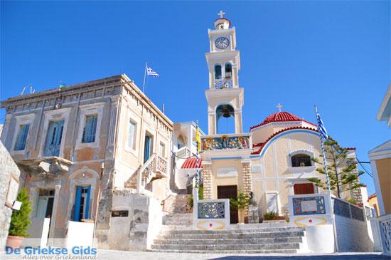 Panagia kerk in Olympos op Karpathos