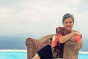 Filio Trintafillidou: gek op eiland Kea