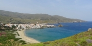Anneke Kamerling over eiland Andros