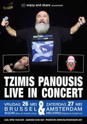 Tzimis Panousis live in Brussel en Amsterdam