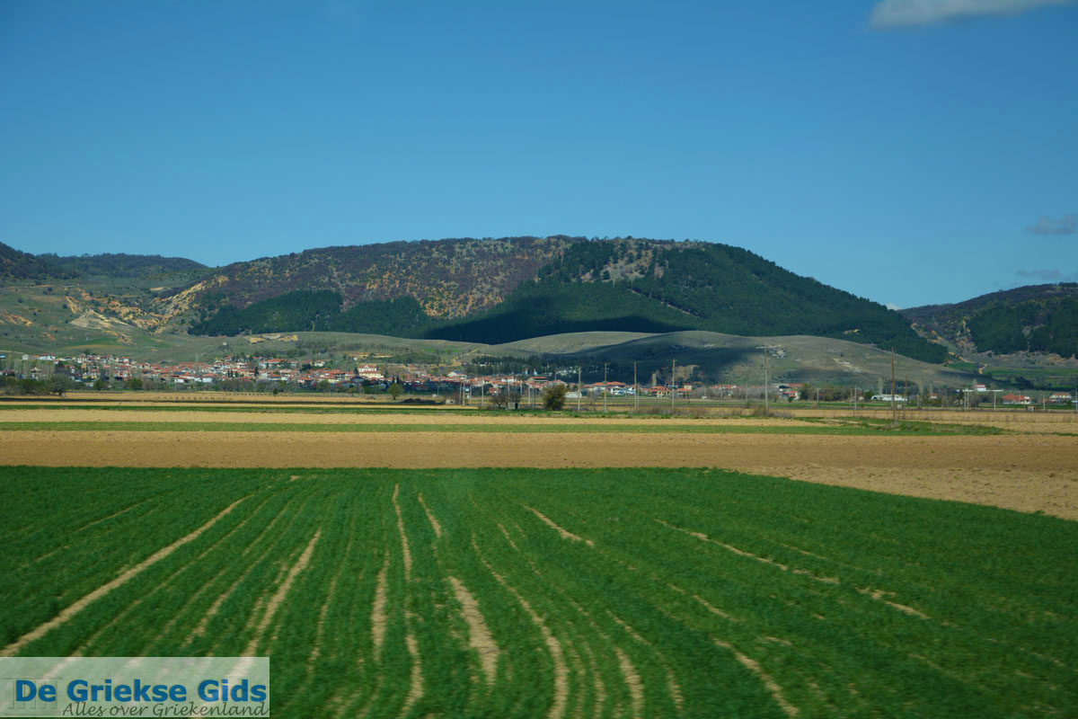 foto Vanaf Amindeo via Aetos naar Nimfeon   Florina Macedonie Foto 1