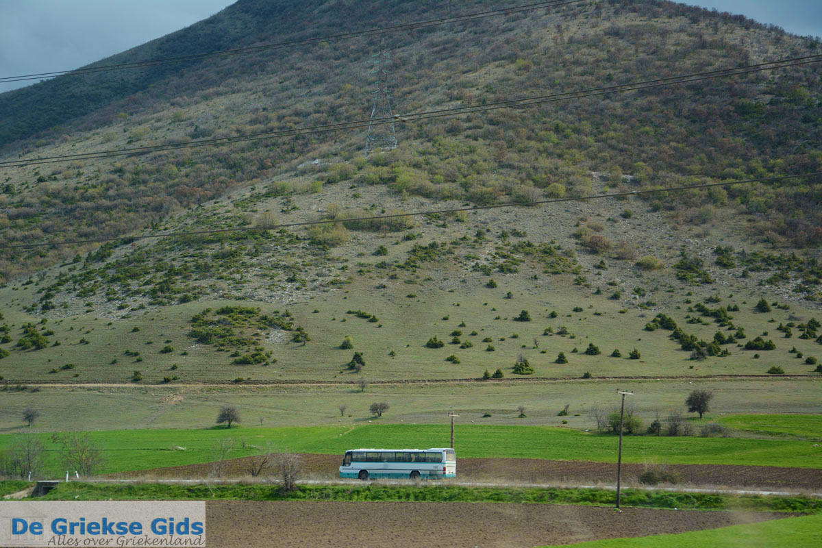 foto Bij het dorp Agios Dimitrios tussen Kozani en Veria | Macedonie | De Griekse Gids