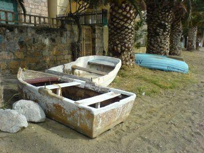 Vissersbootjes in Tolo - Foto van alice41