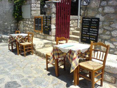 Restaurant op Hydra - Foto van alice41