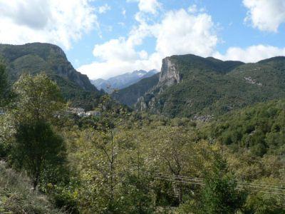 De Olymbos gezien vanuit Litochori - Foto van anna