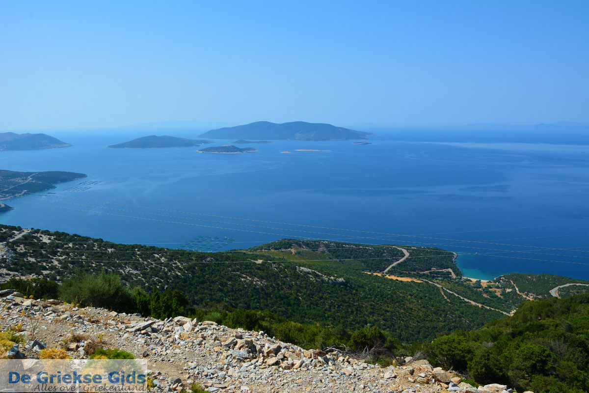 foto Uitzicht op eilandjes Petali Evia | Griekenland | Foto 2