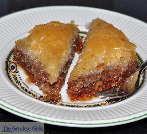 Echte Griekse baklava