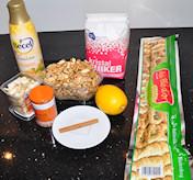 Ingredienten voor baklava