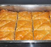Baklava uit de oven