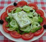 Griekse salade - Griekse gerechten en recepten