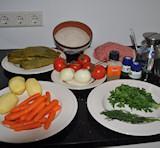gevulde wijnbladeren - Griekse gerechten en recepten