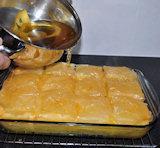 Een dessert uit Griekenland - galaktoboureko