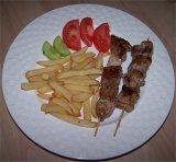 Vleesspiesjes/Souvlaki - Griekse gerechten en recepten