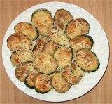 gebakken courgettes - Griekse gerechten en recepten
