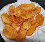 Aardappelschijfjes bakken