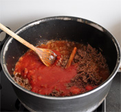 Stap 2 Leg de pastitio in een ingevette obeschaal