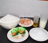 Ingredienten Tsourekia