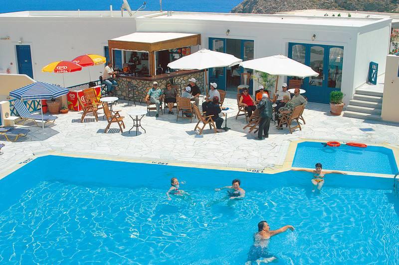 Appartementen Aegean View - Kamari - Santorini