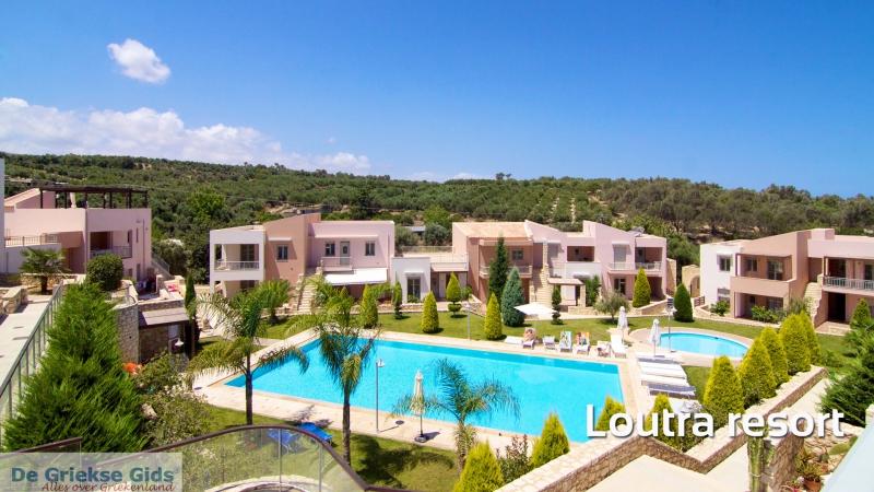 Appartementen Loutra Resort - Loutra - Rethymnon Kreta