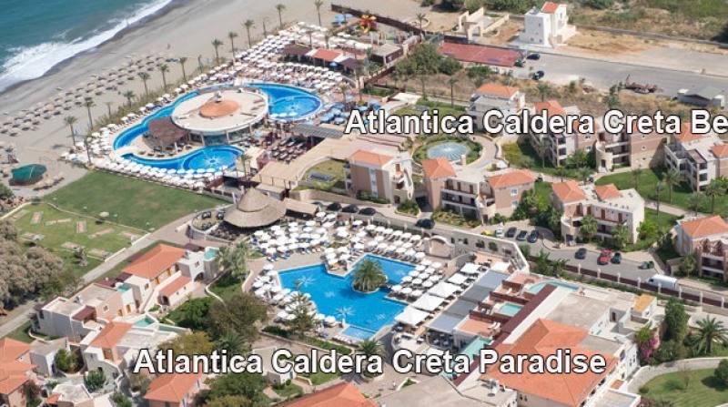 Hotel Atlantica Caldera Creta Paradise - Chania - Chania Kreta