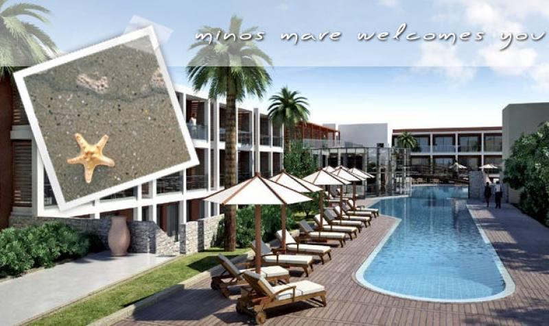 Hotel Minos Mare - Rethymnon - Rethymnon Kreta