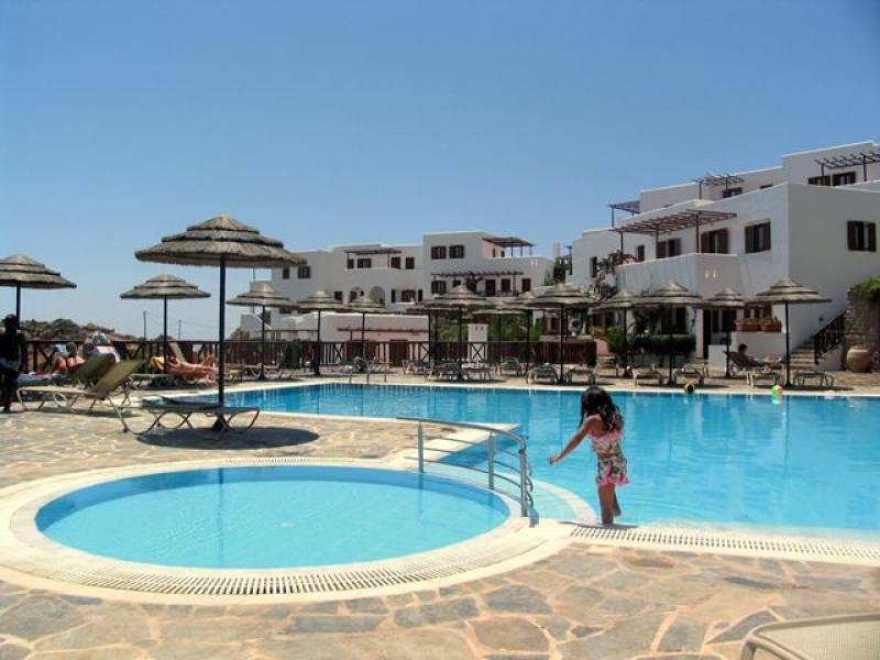 Appartementen Aegean Village - Amopi - Karpathos