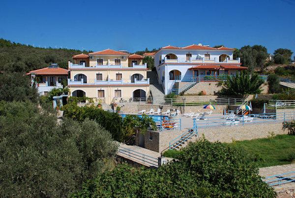 Appartementen Pantheon - Ormos - Samos